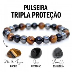 Triple Protection Bracelet - 6 mm