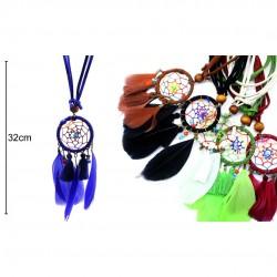 Dreamcatcher necklaces 6 color 32cm