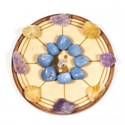 Crystal Grid Blessing of Hearth