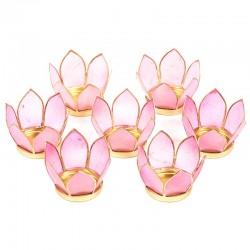 Small Pink Lotus Lighting