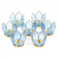 Small Blue Lotus Lighting