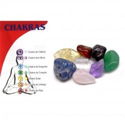 7 Chakras Crystals Set