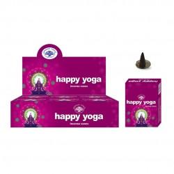 Incense Happy Yoga (Cones)