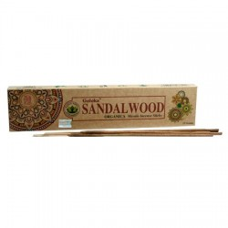 Goloka Sandalwood Organic Incense